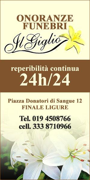 Onoranze Funebri Il Giglio - Finale Ligure - Tel. 019.4508766