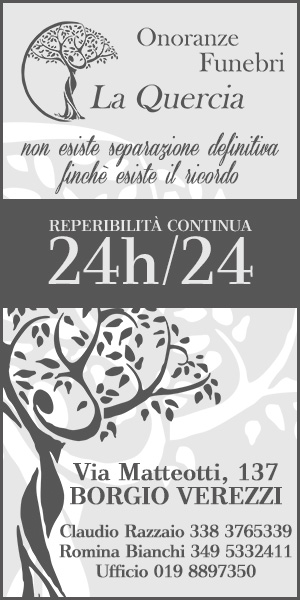 Onoranze Funebri La Quercia - Borgio Verezzi - Claudio Razzaio Tel. 338.3765339 - Tel. 349.5332411
